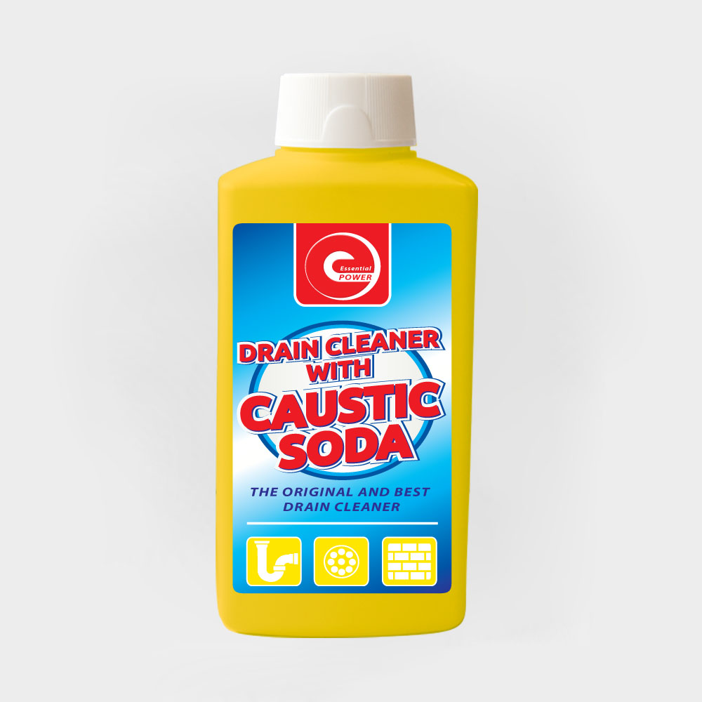 Drain Cleaner With Caustic Soda 500g