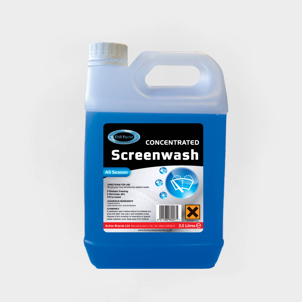 Chill Factor Screenwash Concentrated 2.5L